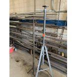 (1) Pittsbursh 2 ton underhoist stand & 1 misc underhoist stand