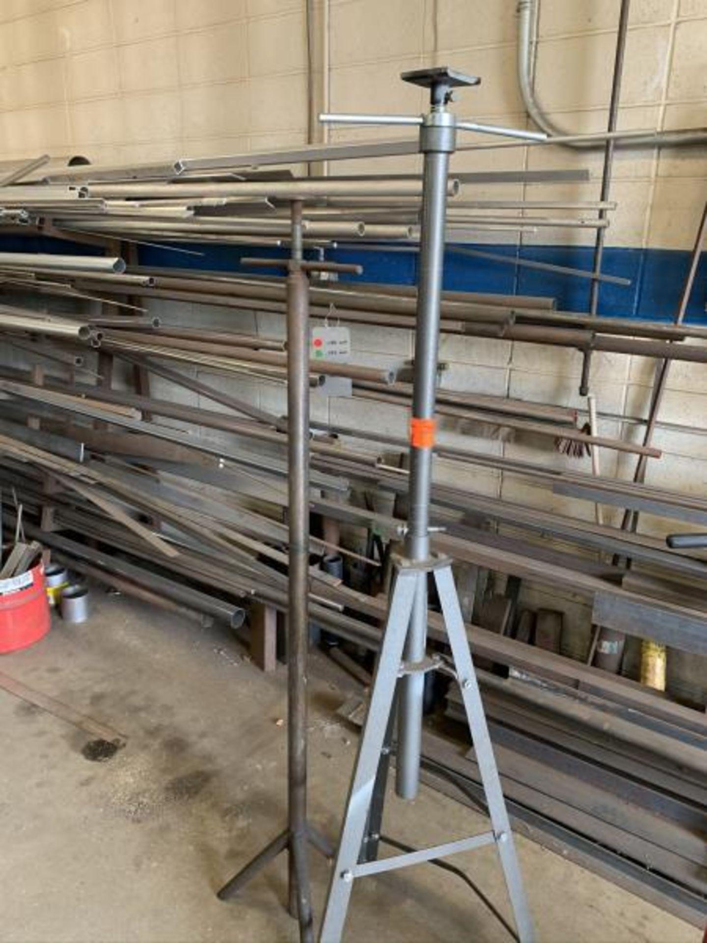 Lot 8 - (1) Pittsbursh 2 ton underhoist stand & 1 misc underhoist stand