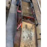 (2) Red shop carts