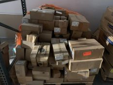 Pallet of Assorted Hardware - Assorted Sizes Compression Couplings