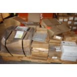 Pallet of Mounting Hardware - See Photo