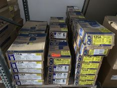 Pallet of Circuit Breaker Load Centers, 125A, 100A By QO