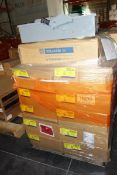 Pallet of Square D 200A General Duty Safety Switches