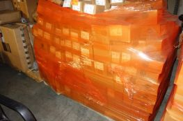 Pallet of EMT One Hole Strap Snap on Type Offset Nipples, Cabinet to Cabinet Conduit Nipples,