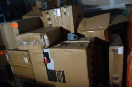 Pallet of Combiner Boxes