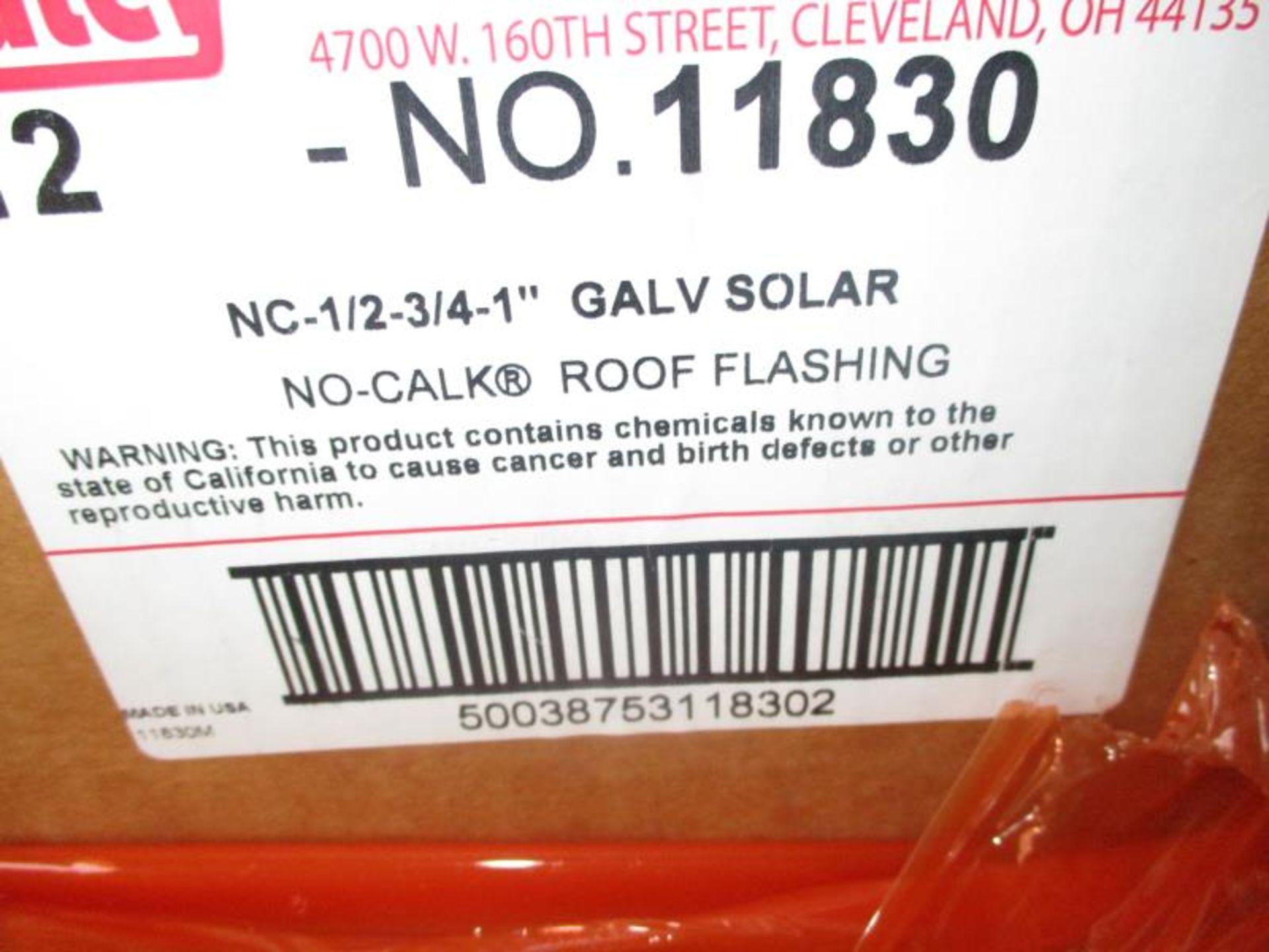 "Lot 154 - Pallet of Oatley NC-1"" Gal Solar No Caulk Roof Flashing"