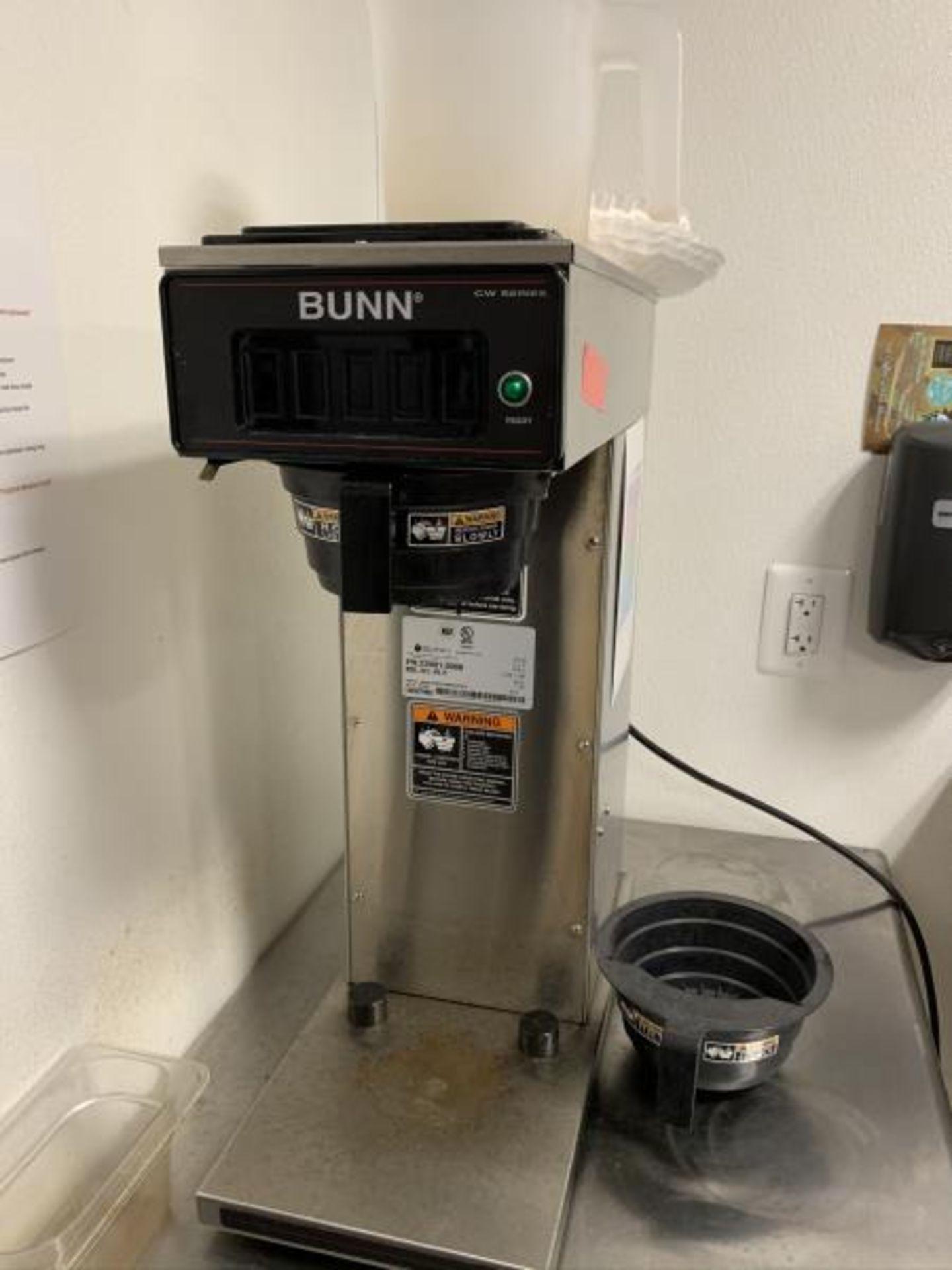 Bunn Carafe Coffee Brewer, Model: CW15-APS,PF, SN: CW0070006