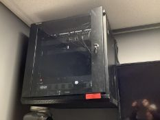 IT Cabinet, Wall Mounted w/ Cyberpower OR500, Tripp-Lite, UBL CSA 1120Z, TP-Link TL-SG1016 16 Port