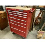 9 Drawer proto professional tools, tool cabinet, casters