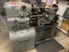 "Monarch Lathe, catalogue size 10""EE, MFR'S SN: 36835, actual swing 12.5"", distance between centers"
