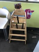 (2) Wooden Highchairs