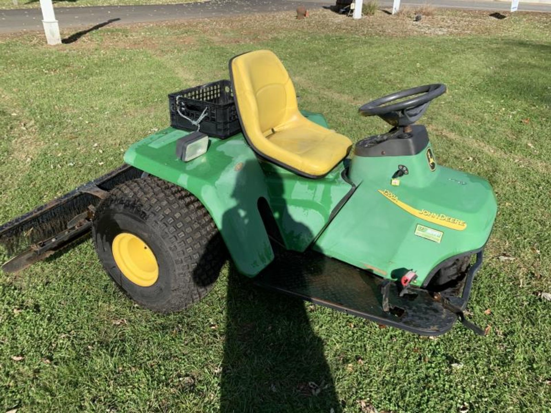 2016 Bunker Rake, John Deere 1200A , SN: 1TC1200AEGT230522 - Starts & Runs, Shifts Rough - Image 3 of 5
