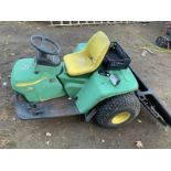 2016 John Deere 1200A Bunker Rake, SN: 1TC1200AHGT230521, Starts Up & Engine Runs, Shifts Rough