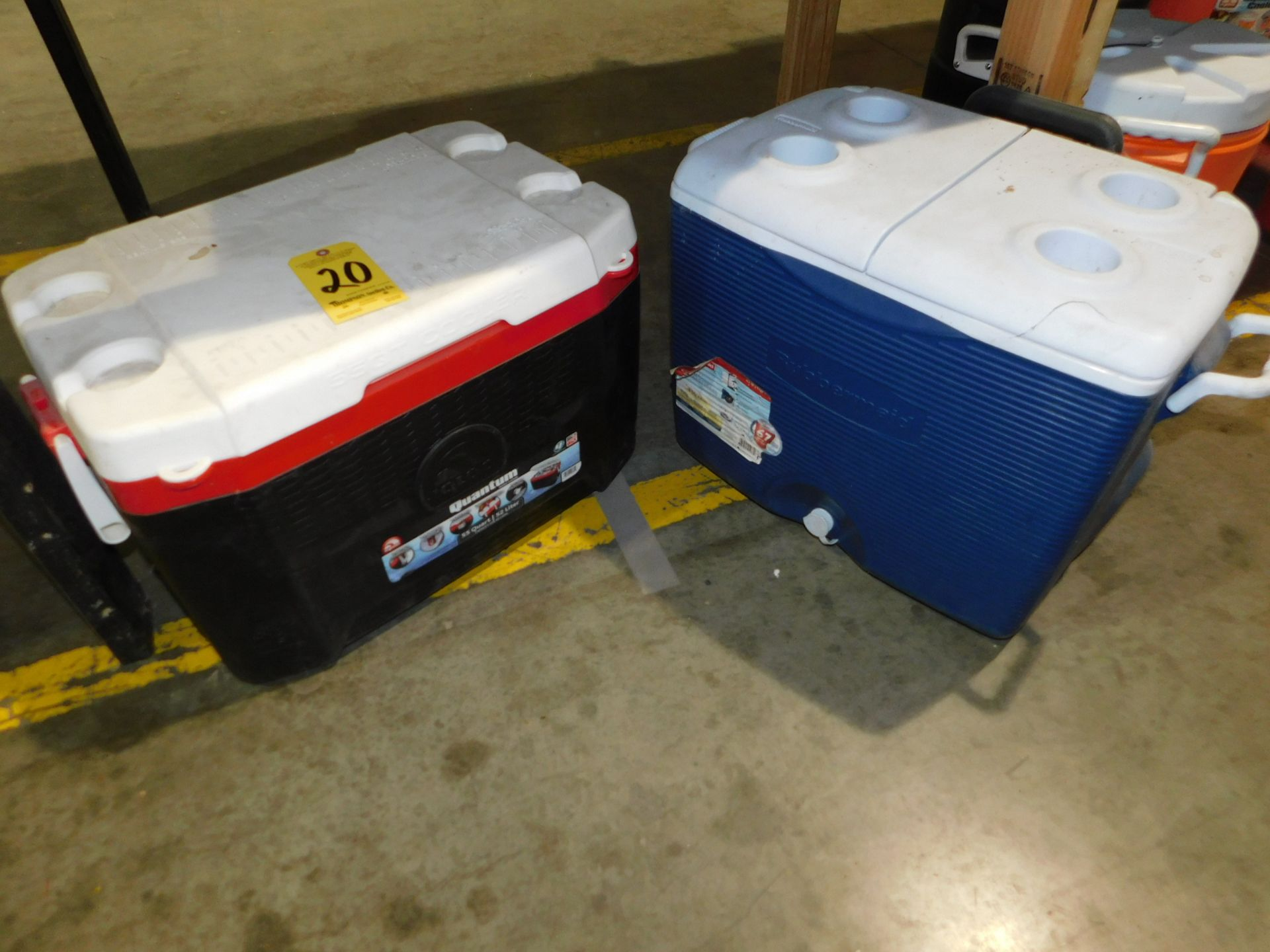 Lot 20 - (2) Coolers