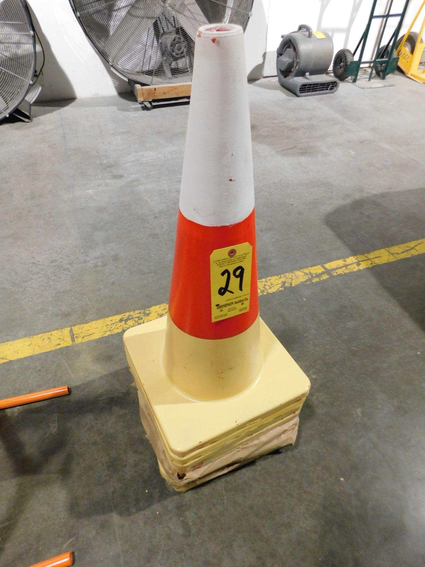 Lot 29 - (8) Traffic Cones