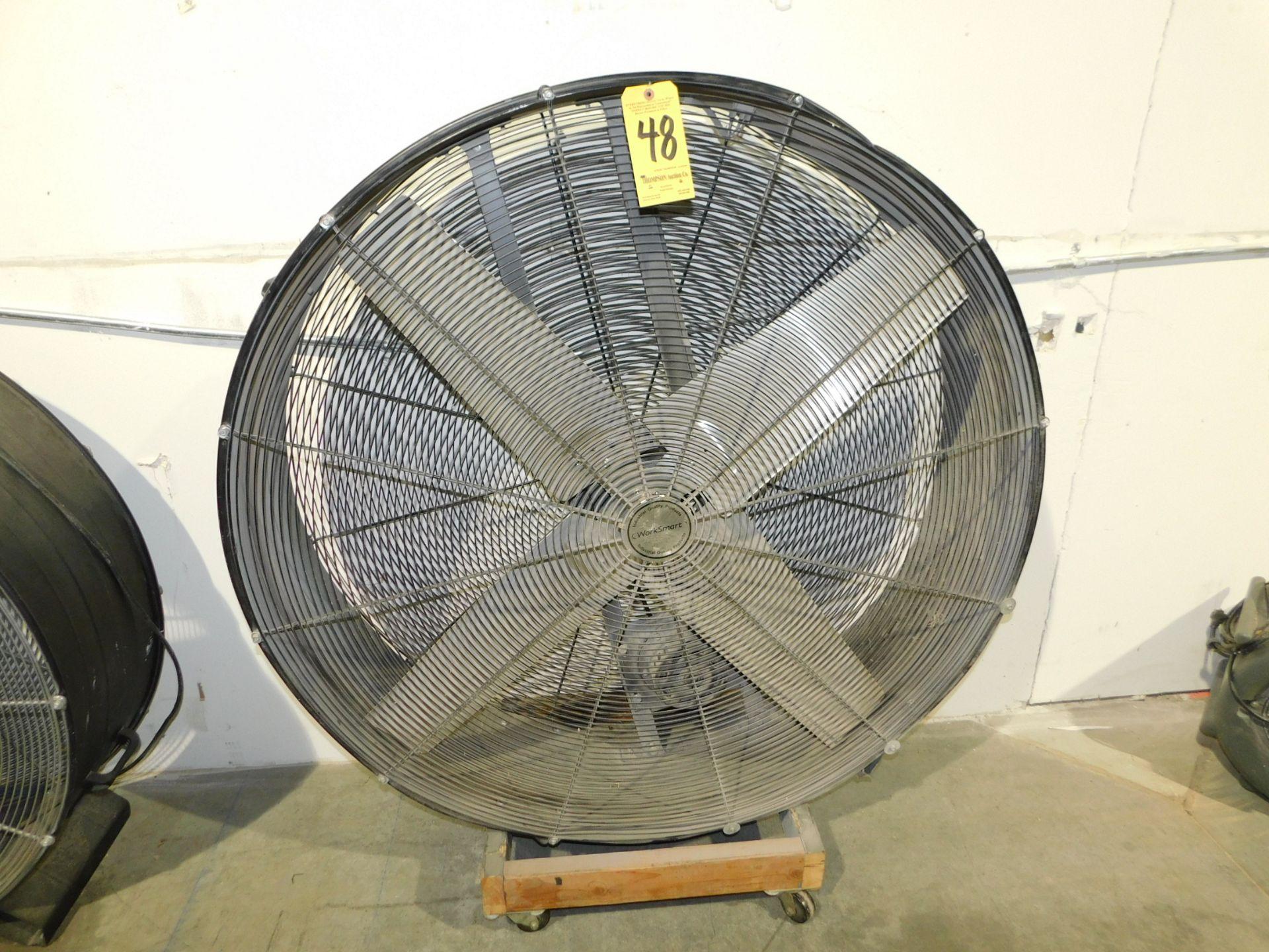 """Lot 48 - Work Smart 48"""" Shop Fan"""