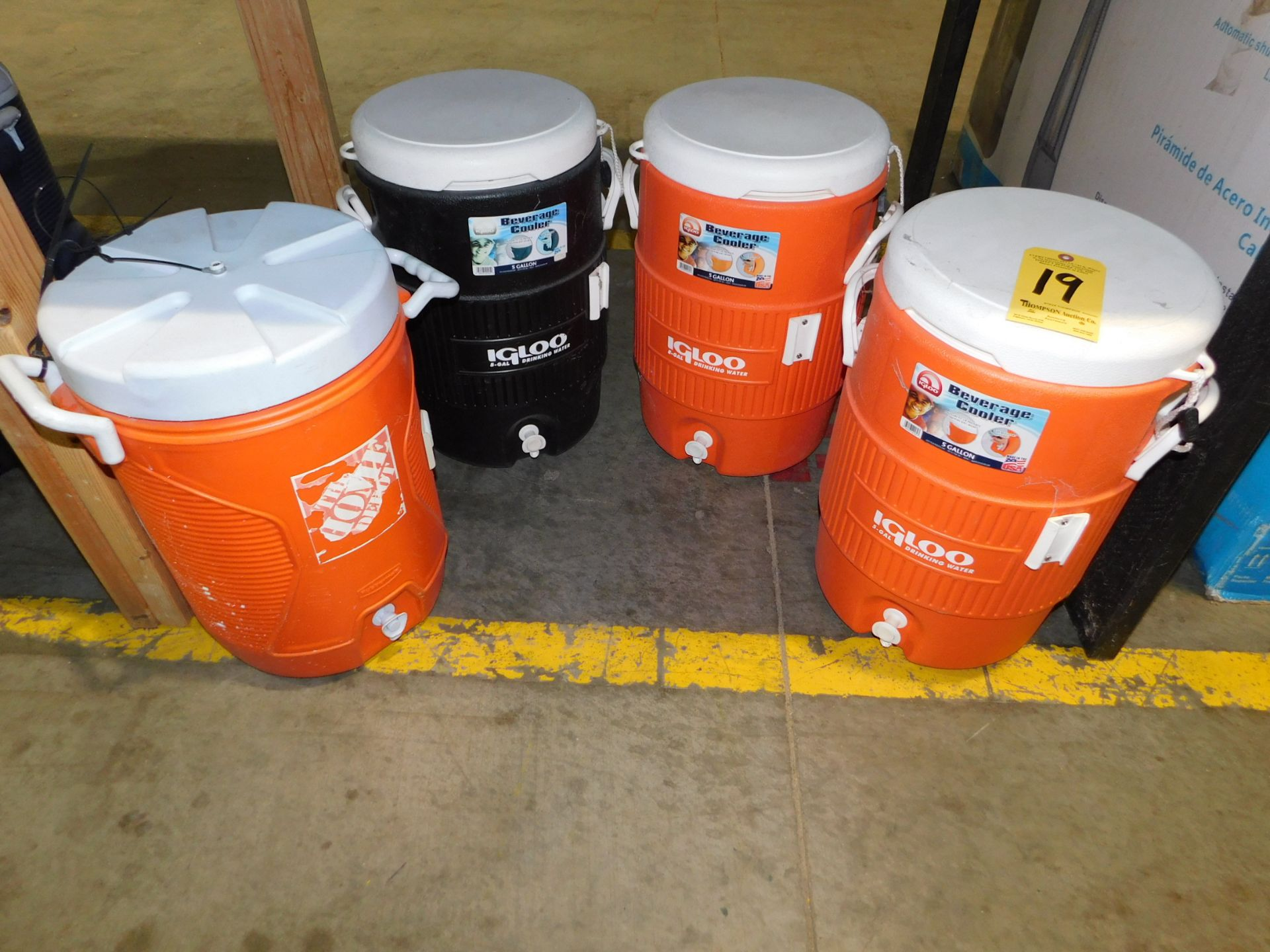 Lot 19 - (4) Water Coolers