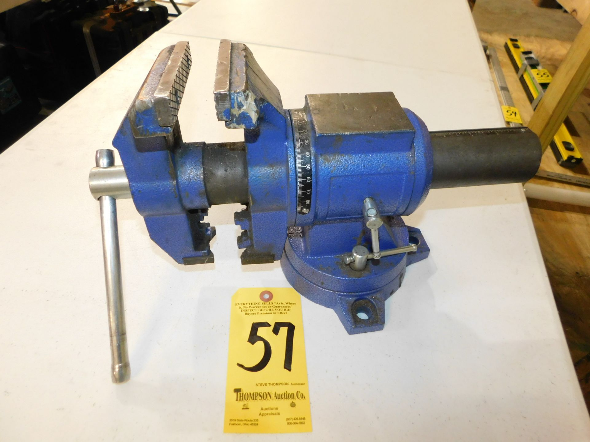 """Lot 57 - 5"""" Bench Vise, Lot Location 3204 Olympia Dr. A, Lafayette, IN 47909"""