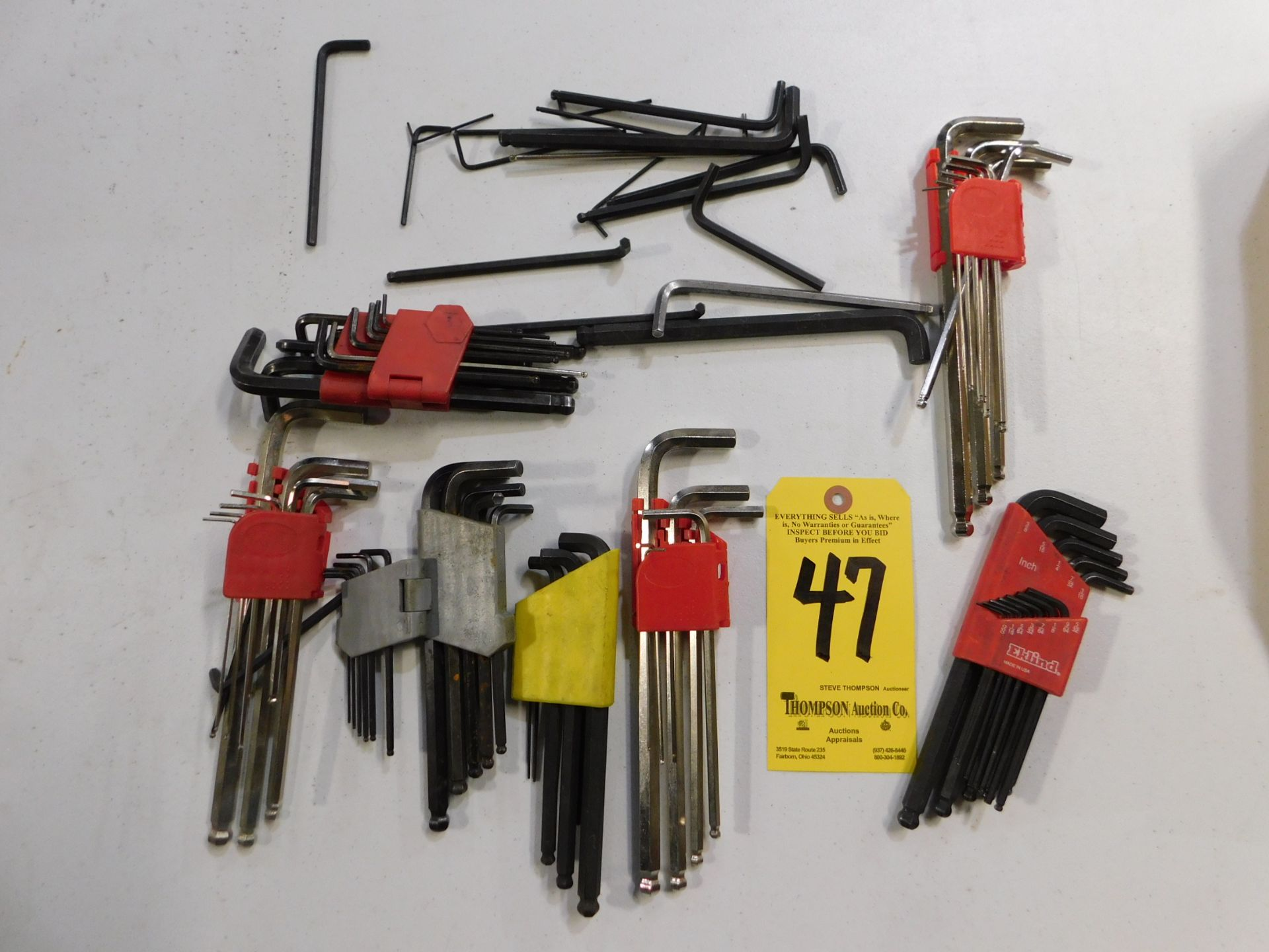 Lot 47 - Hex Wrenches, Lot Location 3204 Olympia Dr. A, Lafayette, IN 47909