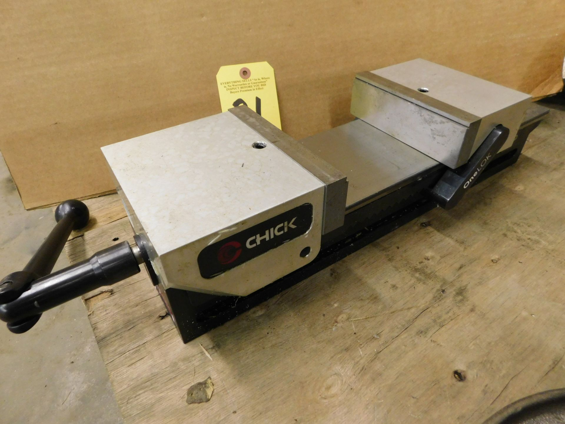 """Lot 21 - Chick One Lok 6"""" Mill Vise, Lot Location: 301 Poor Dr., Warsaw, IN, 46580"""