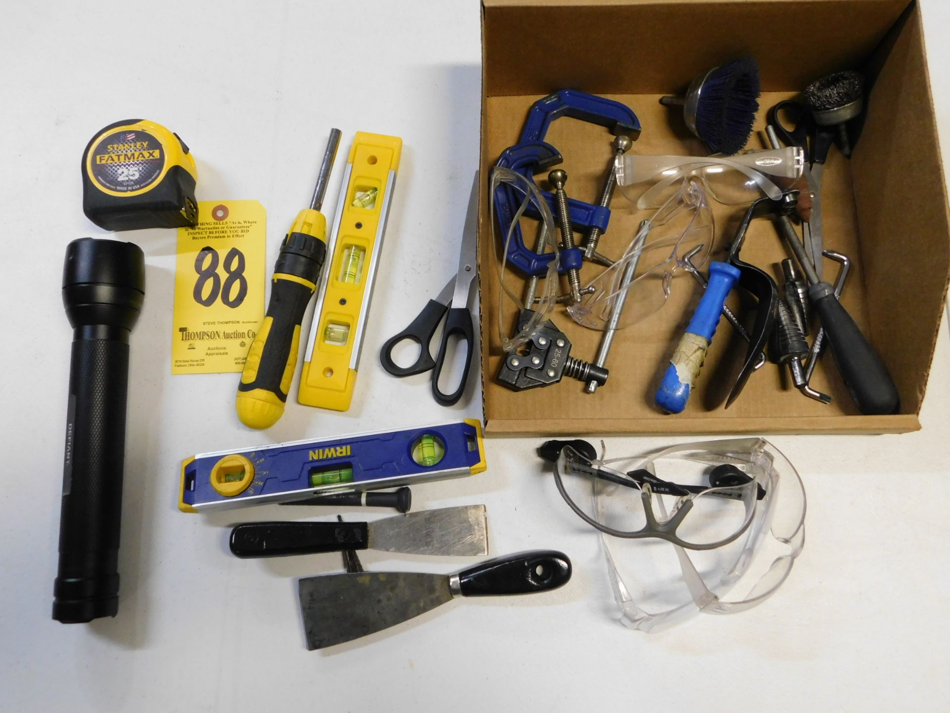 Lot 88 - Miscellaneous Hand Tools, Lot Location 3204 Olympia Dr. A, Lafayette, IN 47909