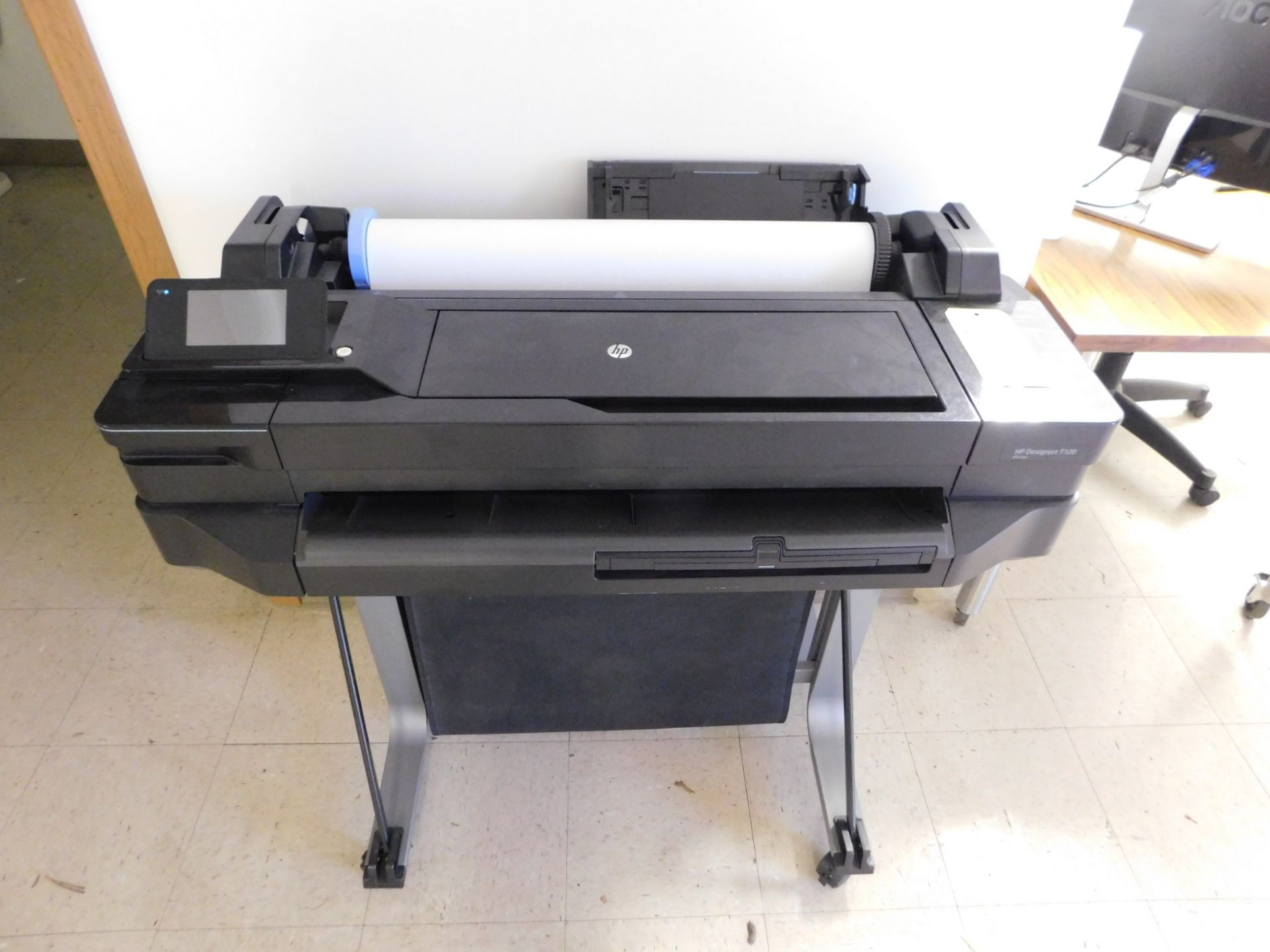 """Lot 367 - HP Designjet T120 24"""" Wide Format Printer, Lot Location 3204 Olympia Dr. A, Lafayette, IN 47909"""