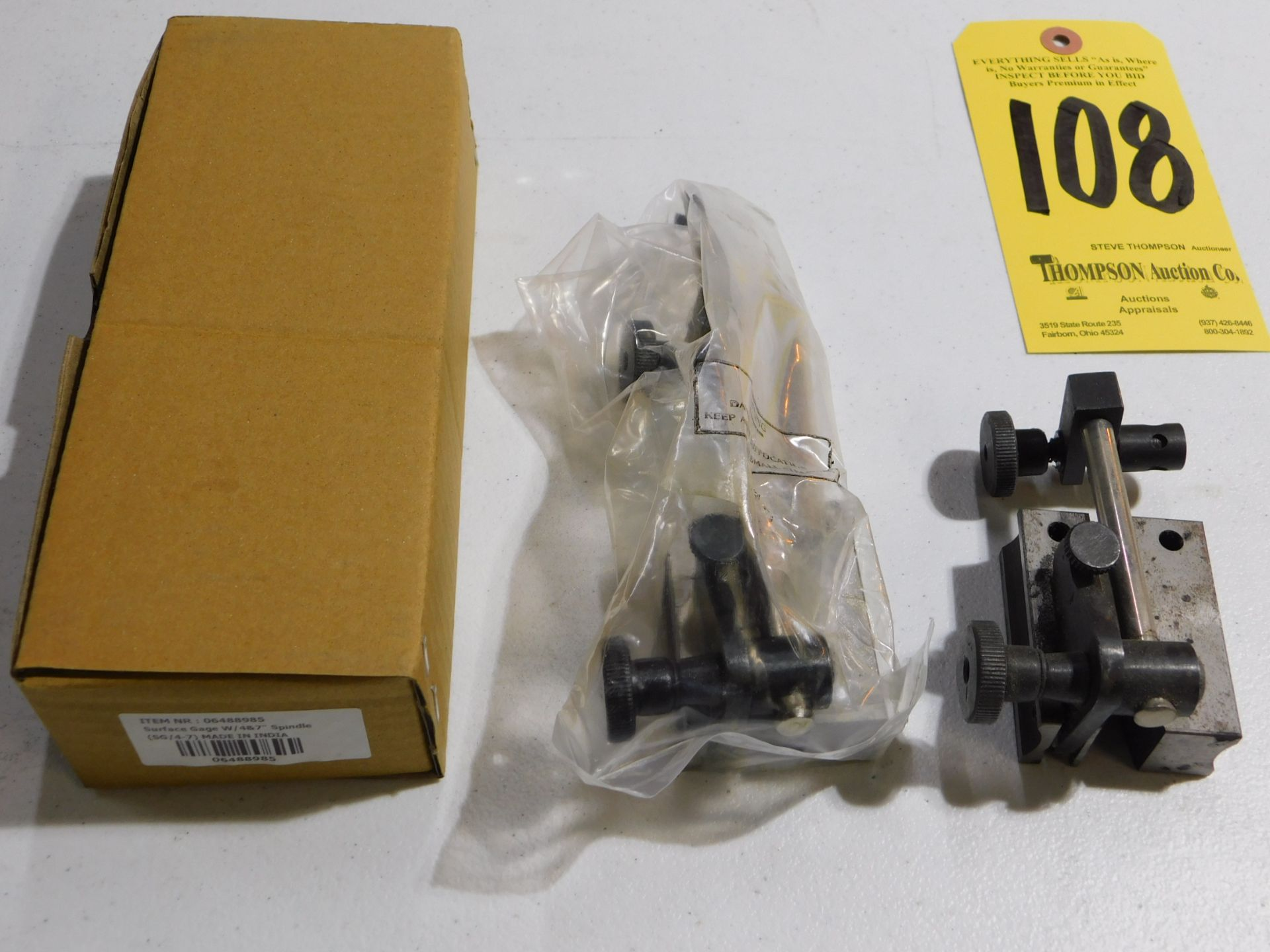 Indicator Stands, Lot Location 3204 Olympia Dr. A, Lafayette, IN 47909