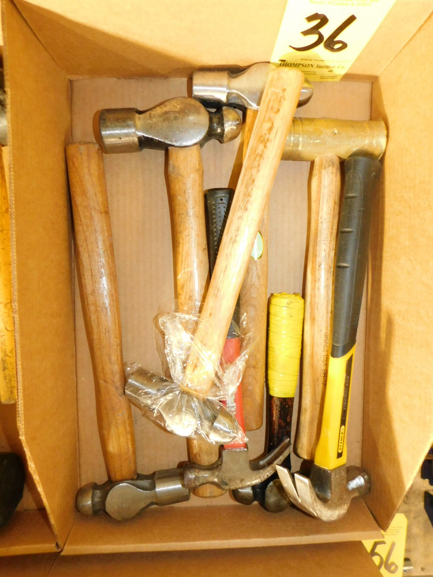 Lot 36 - Miscellaneous Hammers