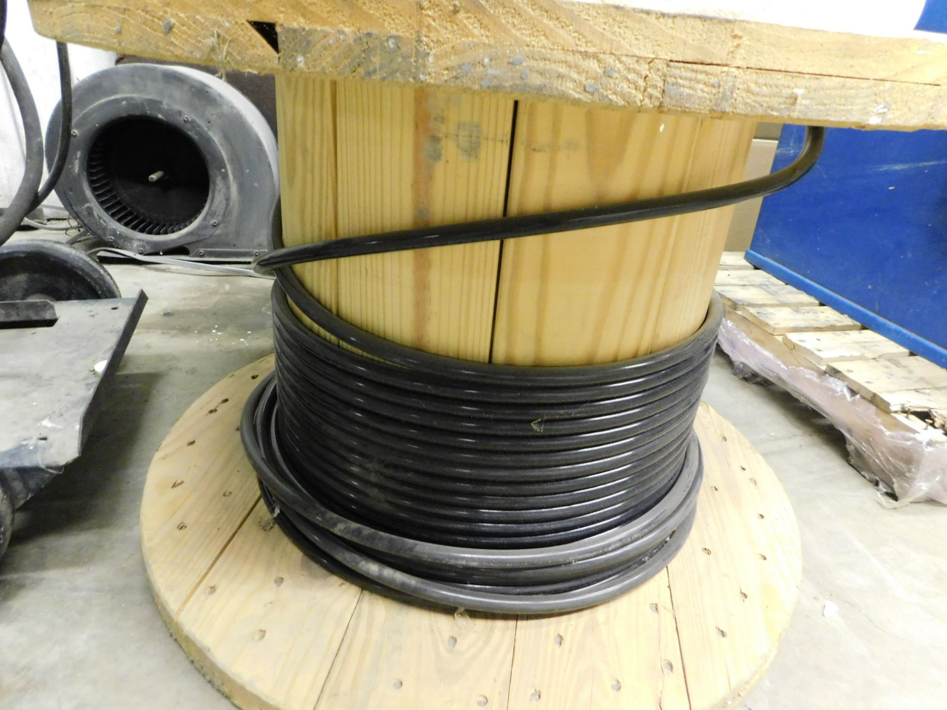 Lot 5 - Wooden Spool with Copper Wire, Lot Location: 301 Poor Dr., Warsaw, IN, 46580