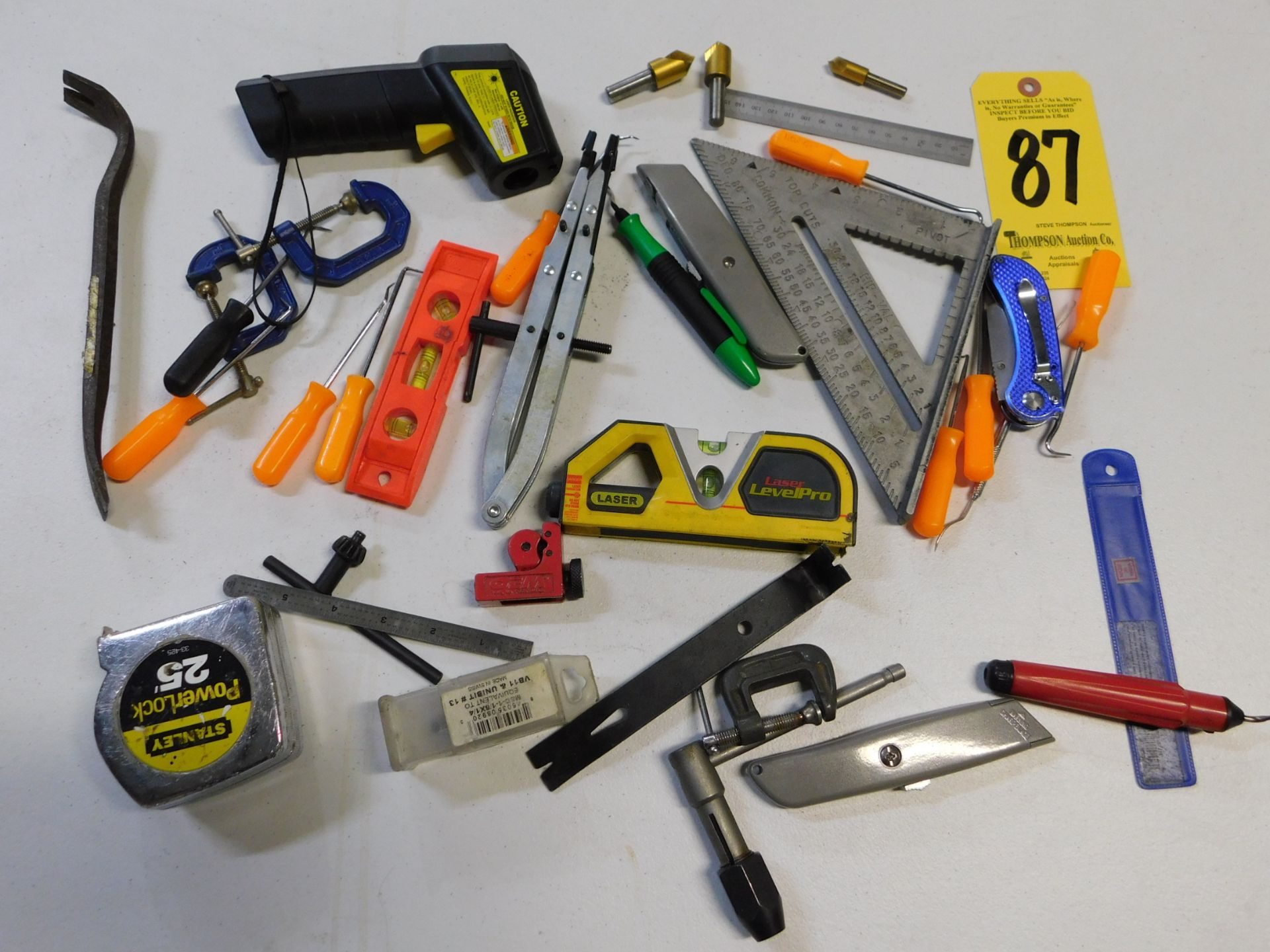 Lot 87 - Miscellaneous Hand Tools, Lot Location 3204 Olympia Dr. A, Lafayette, IN 47909