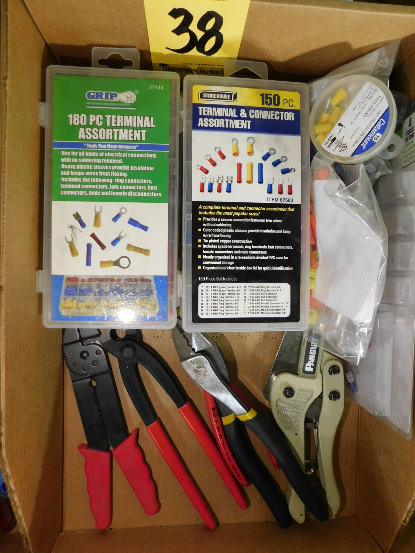 Lot 38 - Crimping Tools and Terminal Hardware