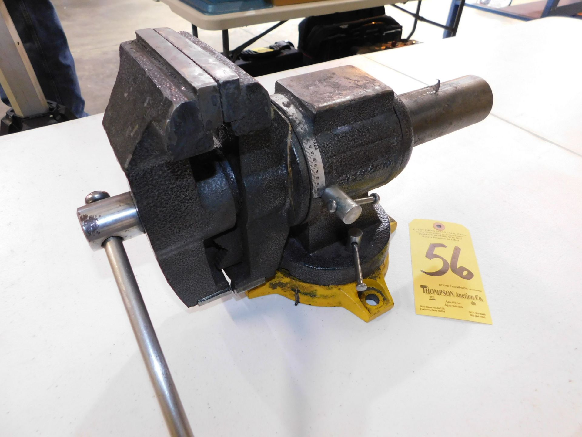 """Lot 56 - 5"""" Bench Vise, Lot Location 3204 Olympia Dr. A, Lafayette, IN 47909"""