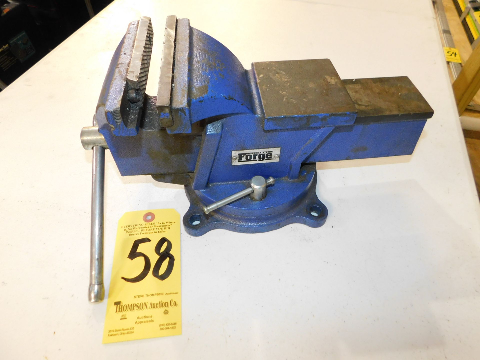 """Lot 58 - 6"""" Bench Vise, Lot Location 3204 Olympia Dr. A, Lafayette, IN 47909"""
