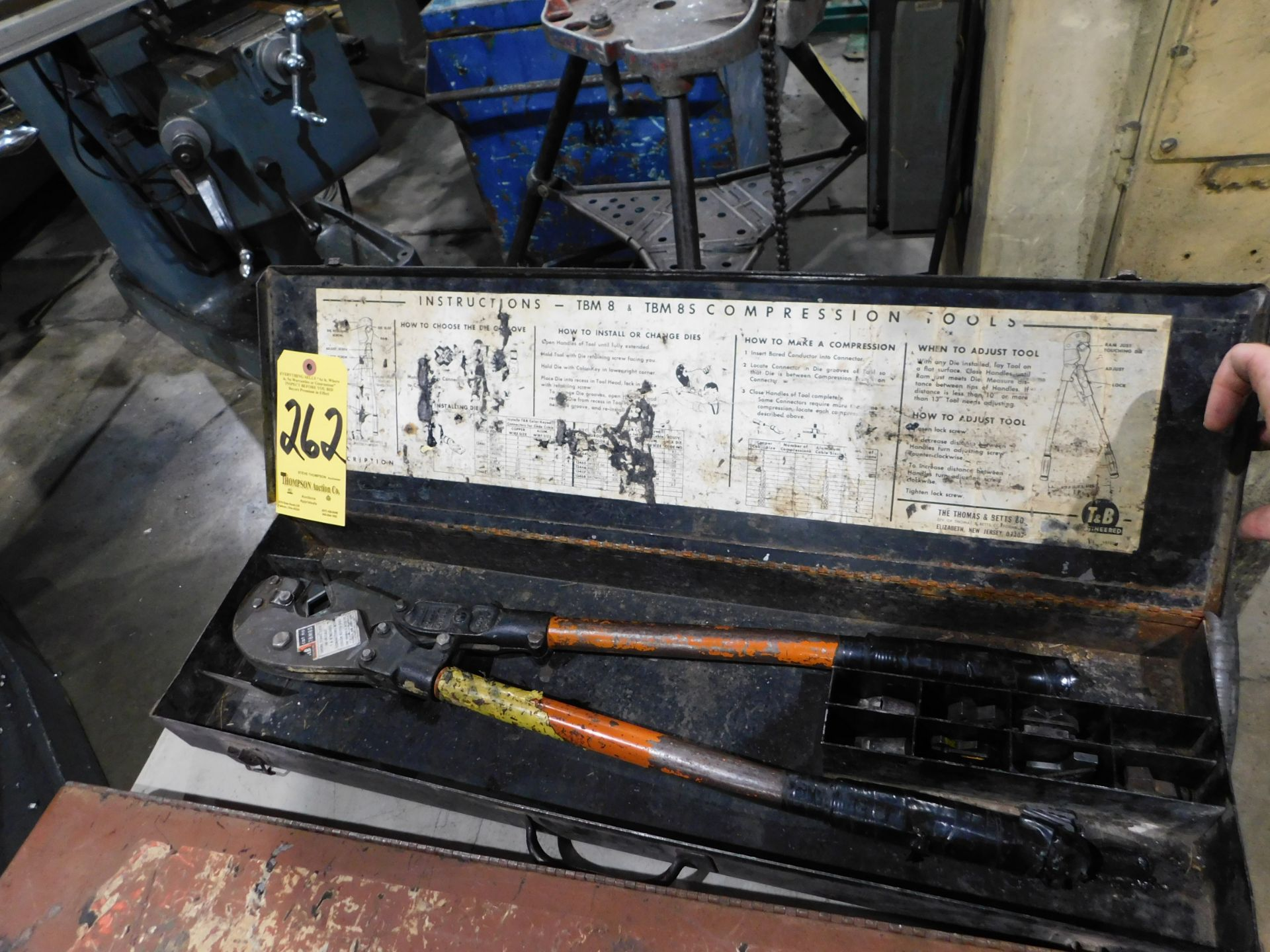 Lot 262 - T&B Model TBM8S Hand Compression Tool