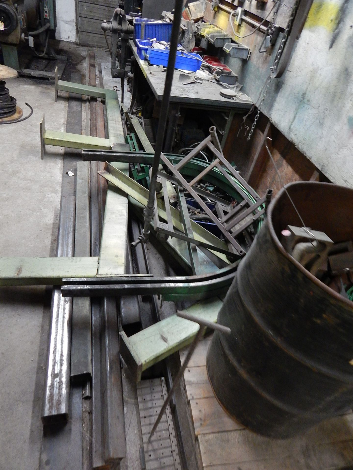Lot 130 - Scrap Steel and Parts