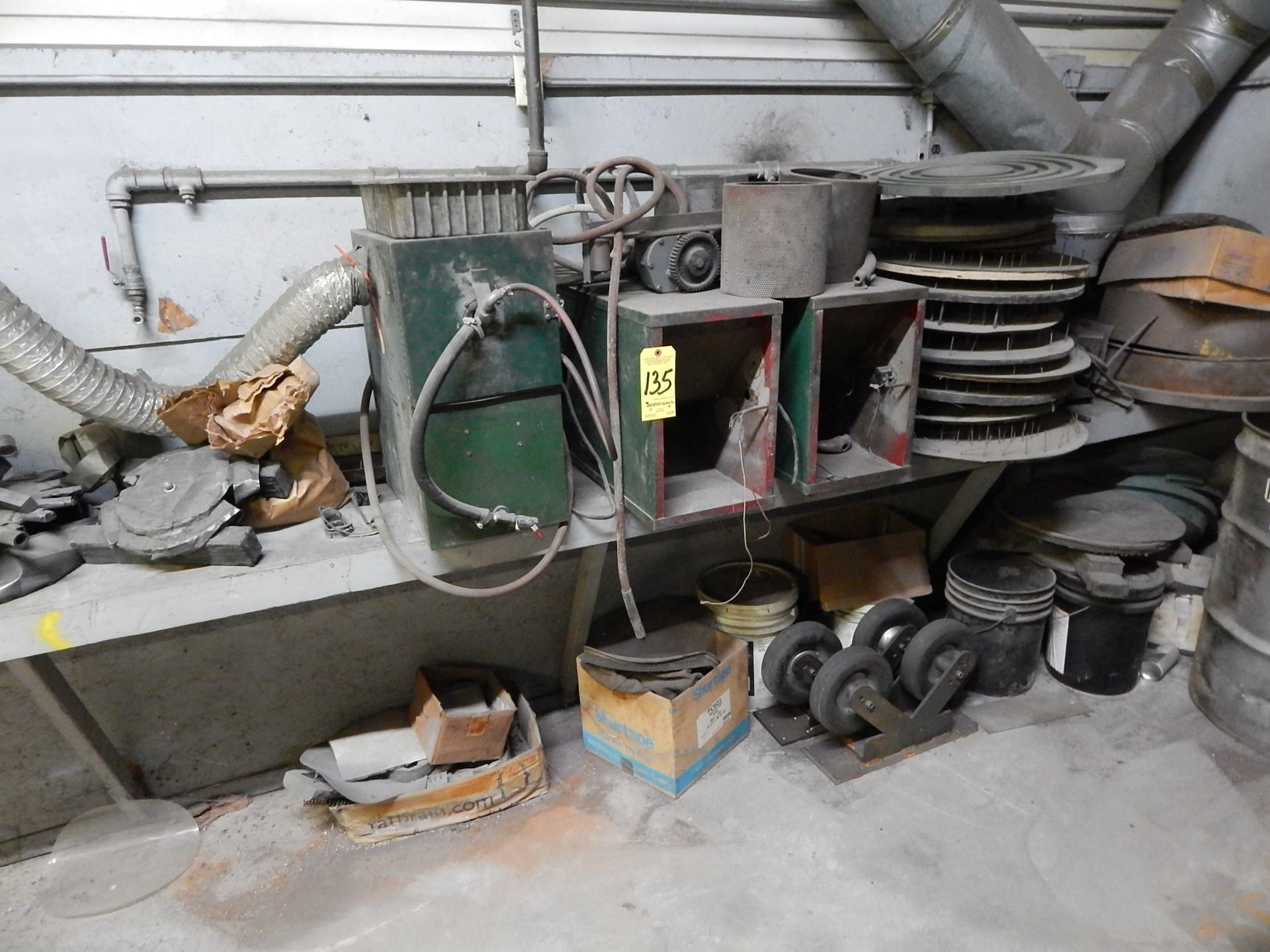 Lot 135 - Scrap Steel and Miscellaneous