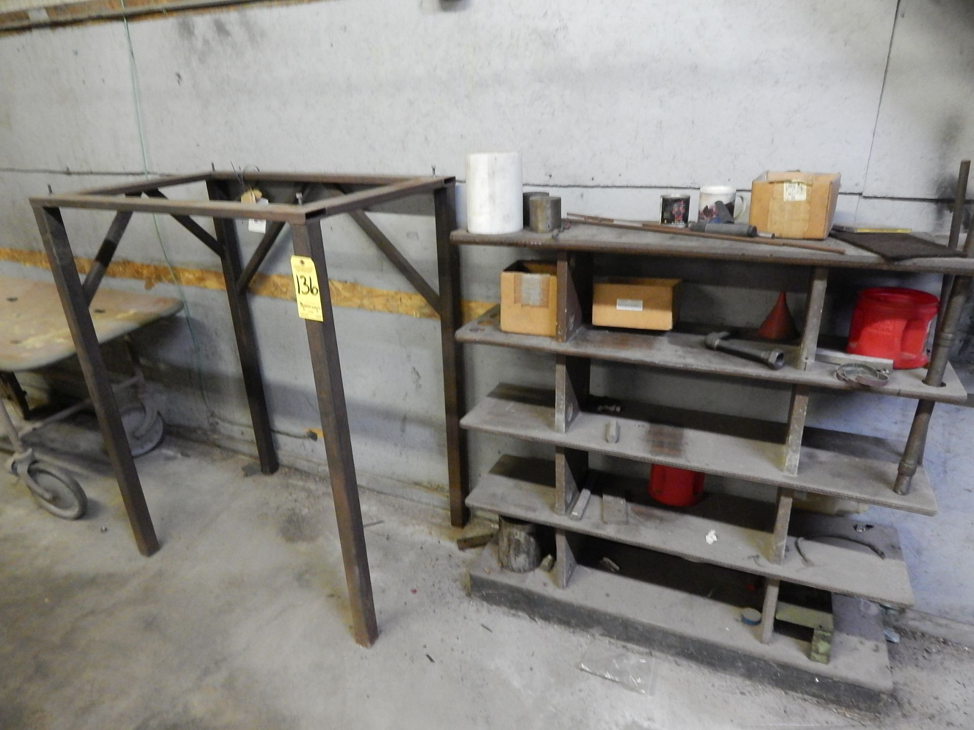 Lot 136 - Scrap Steel and Miscellaneous