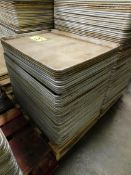 Aluminum Trays (Approx. 50)