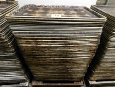 Perforated Aluminum Trays (Approx. 75)