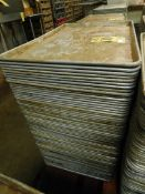 Aluminum Trays (Approx. 75)