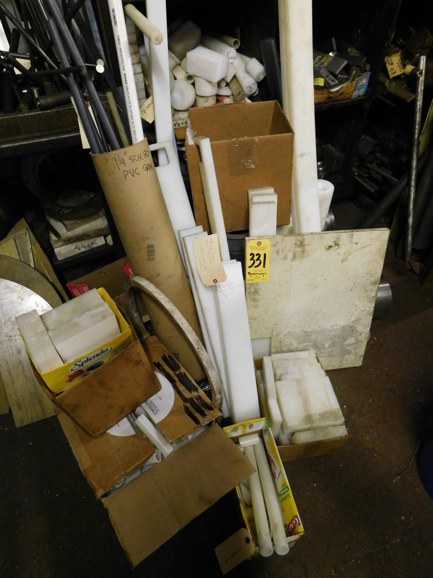 Lot 331 - Miscellaneous Plastic Material
