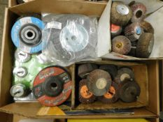 Flap Wheels, Wire Wheels and Grinding Discs