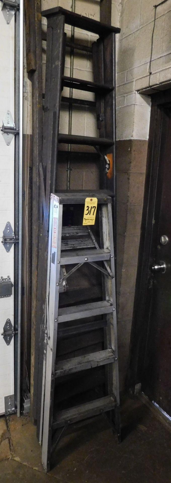 Lot 317 - 5' Aluminum Step Ladder