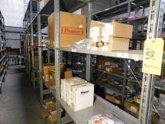 Shelving & Contents, Misc. Components, Shelving 10'H x 4'W x 2'D, (8) Shelves, (6) Sections
