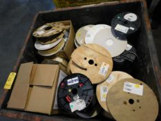 Assorted Multi Conductor Cable, Resisters and Board Components