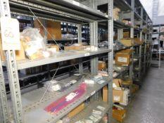 Shelving & Contents, Board mount Connectors, Plugs, Misc. Components, Shelving 8'H x 4'W x 1'D, (