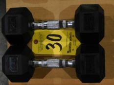 (2) York Dumbbells, 12.5 lb.