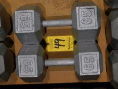 (2) Dumbbells, 65 lb.