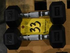 (2) York Dumbbells, 7.5 lb.