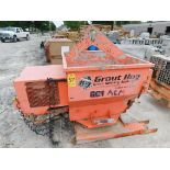 Grout Hog Model GPHC75 Gas-Powered Portable Grout Delivery System, SN GPHC750108, Honda Gas Engine